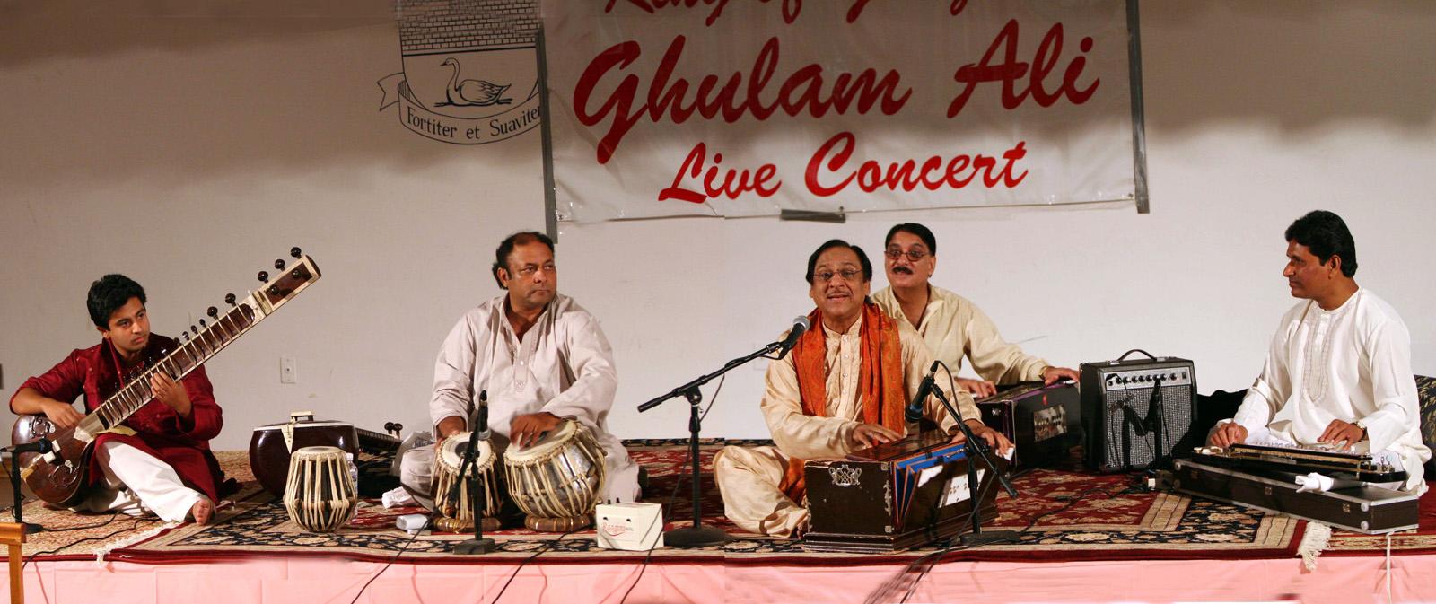 Ustad Ghulam Ali Khan Ghazal Concert