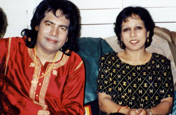 Vasundhara and Ustad Tari Khan