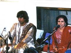 Vasundhara and Ustad Shabbir Khan