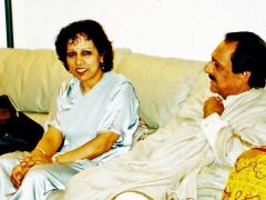 Vasundhara and Ustad Ghulam Ali Khan