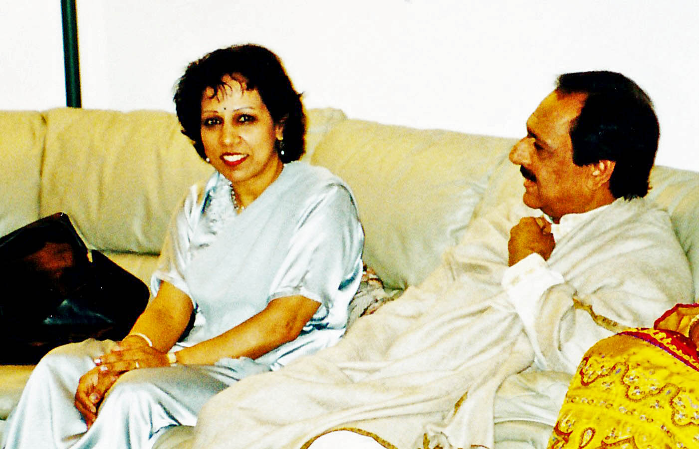 Vasundhara and Ustad Ghulam Ali Khan