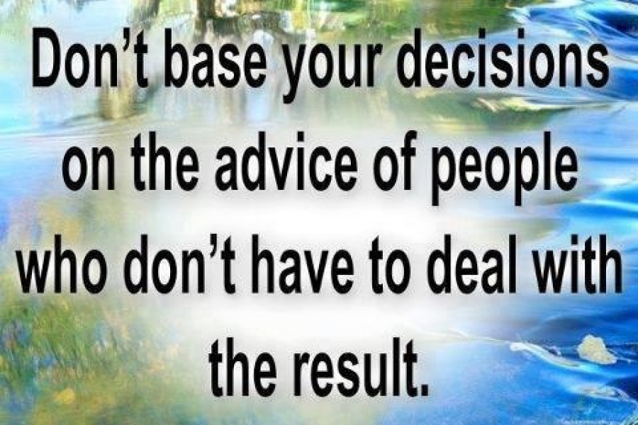 Your Decision!
