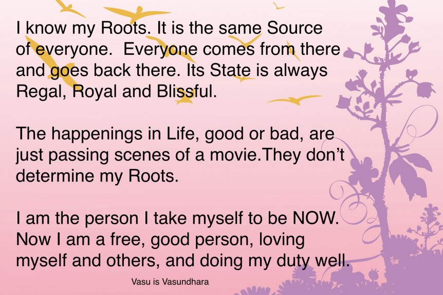 Know your Roots!